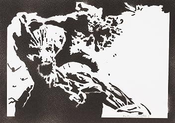 Póster Groot Guardianes De La Galaxia Grafiti Hecho A Mano - Handmade Street Art - Artwork