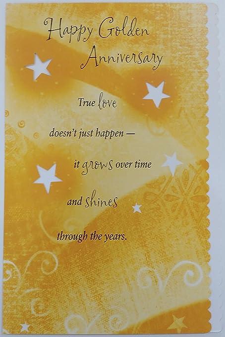 Happy Golden aniversario 50 años de matrimonio - 50 felicitaciones ...