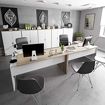 Habitdesign 0F4655A - Mesa Office, Mesa despacho Ordenador Modelo ...