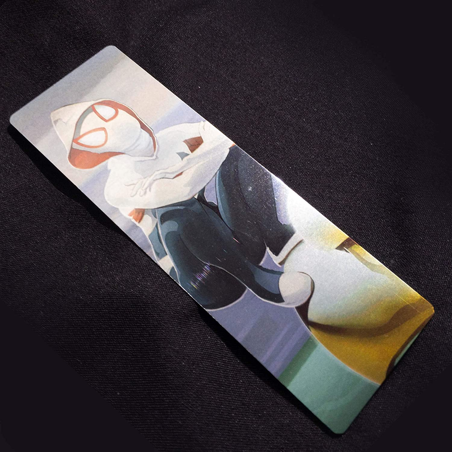 Spider Gwen Metal Bookmark For Spiderverse and Comic Book Fans