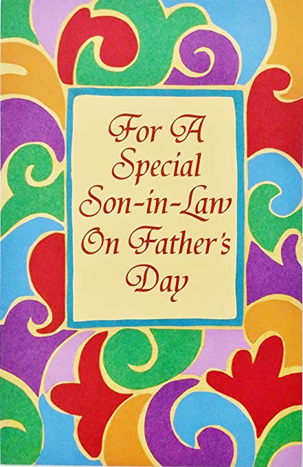 Amazon for a special son in law on fathers day greeting card for a special son in law on fathers day greeting card quot m4hsunfo
