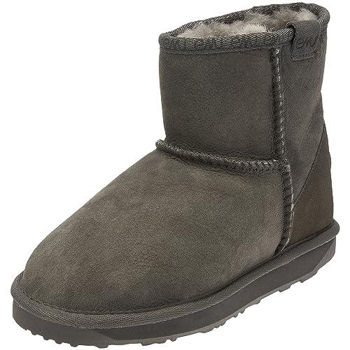 Emu Australia Stinger Mini, Botines Planos, Mujer: Amazon.es: Zapatos y complementos