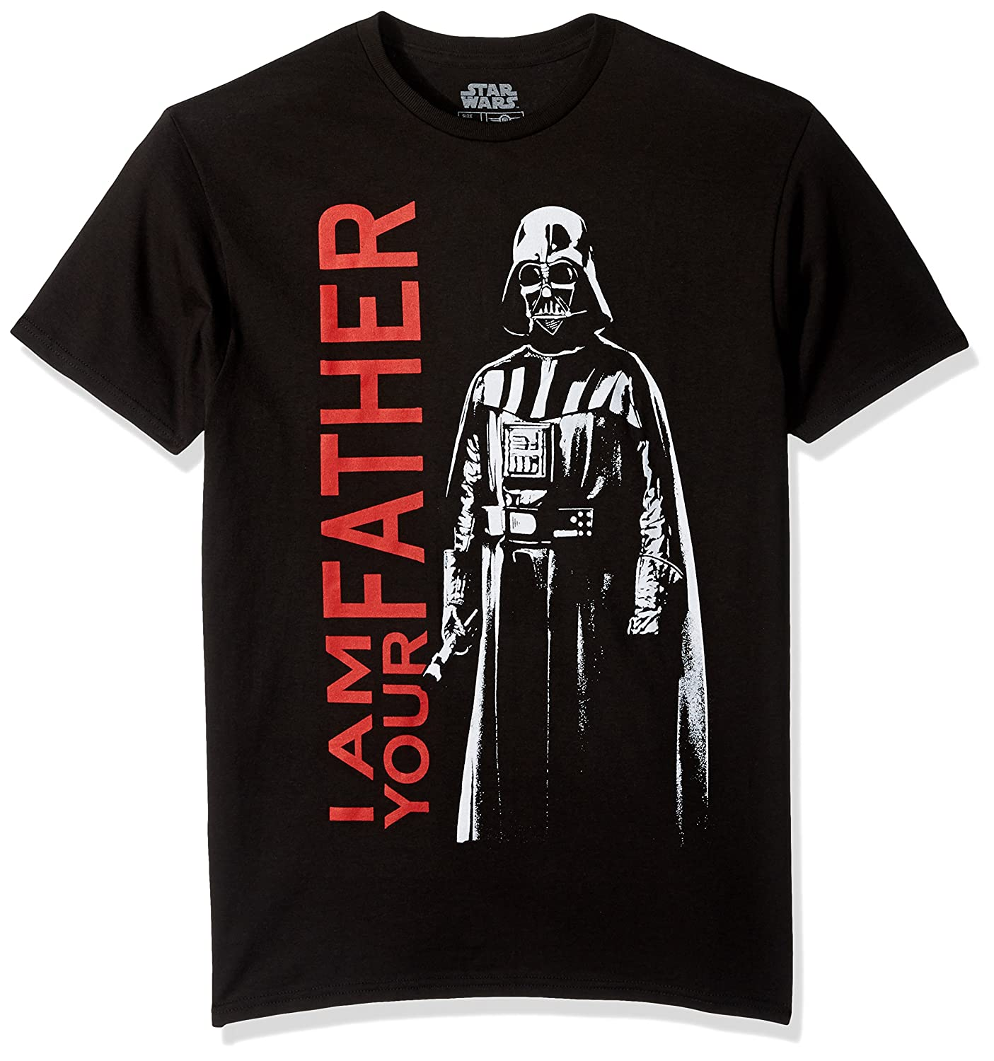 Star Wars Mens Darkest Family Short Sleeve T-Shirt Mad Engine Inc. SWSRD8UMSC1P1XX