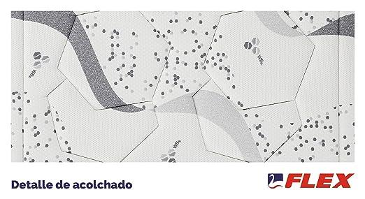 FLEX Colchón muelles continuos biocerámico WBx 300 Visco Firmeza Media, 150 x 190 cm: Amazon.es: Hogar