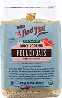 product image for Bob's Red Mill, Quick Rolled Oats, Organic, 32 oz