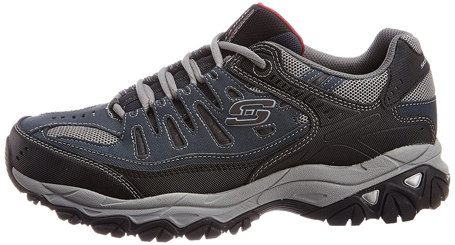 Skechers-Afterburn-Memory-Foam-M-Fit-Men-039-s-Sport-After-Burn-Sneakers-Shoes thumbnail 63
