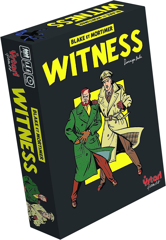 Ystari 002 660 - Testigo, Juego de Mesa: Amazon.es: Juguetes y juegos