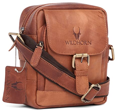 Buy WildHorn Leather 20.32 cms Brown Messenger Bag (MB209 Vintage) Online  at Low Prices in India - Amazon.in 997514c245573
