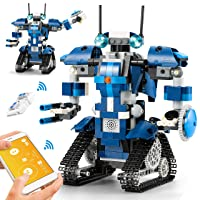 CIRO Robot Building Kits for Kids, STEM Remote Controlled Toys Educational Learning Science Building Gifts for Boys and Girls Ages 8-12