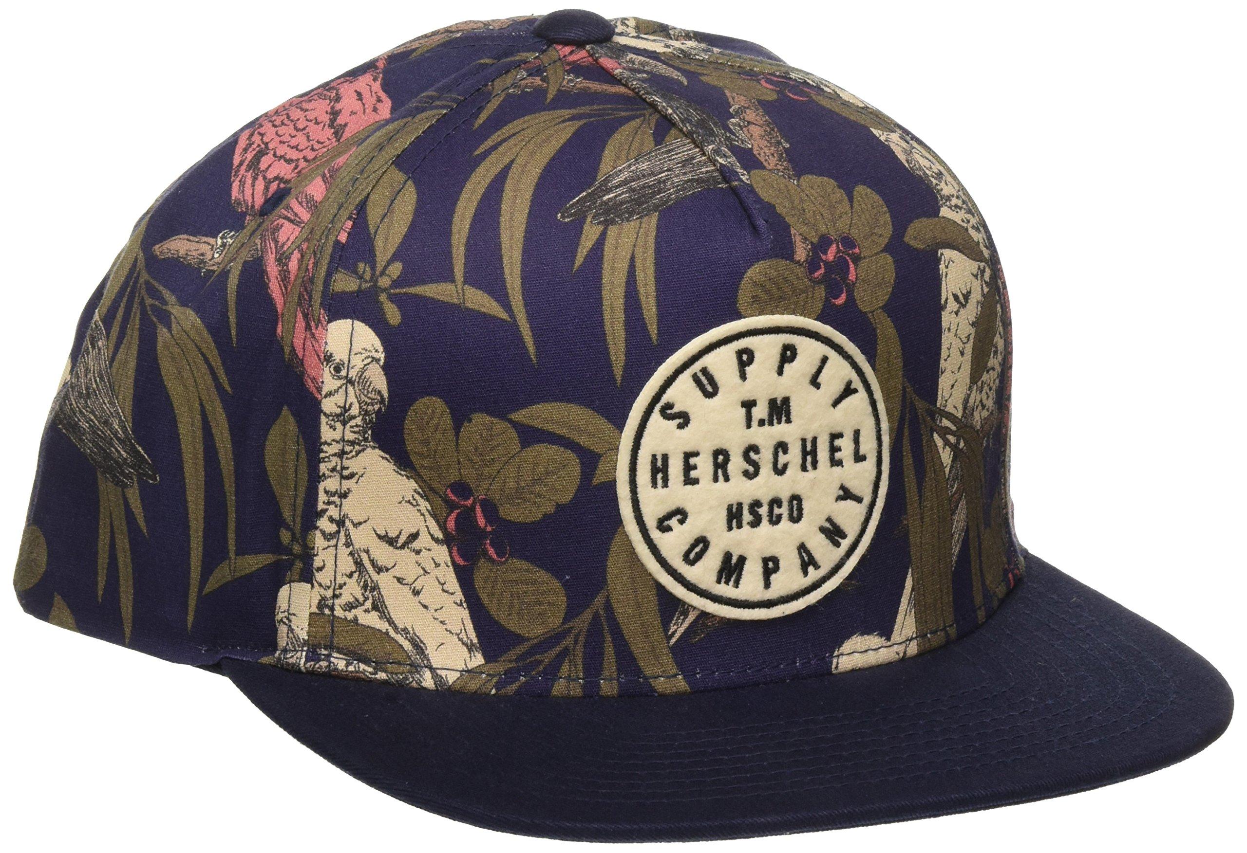 Herschel Supply Co. Men's Tm Cap, Peacoat Parlour, One Size