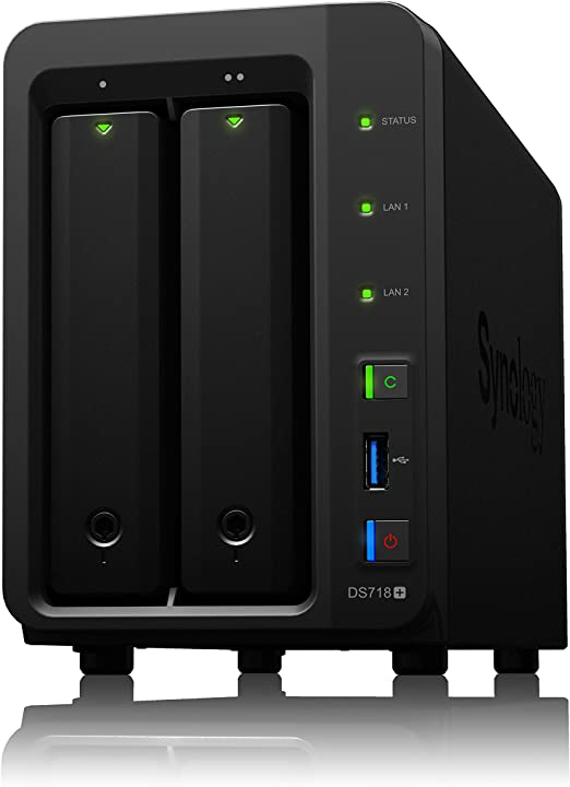 Synology DS718+/12TB-REDPRO 2 Bay NAS -