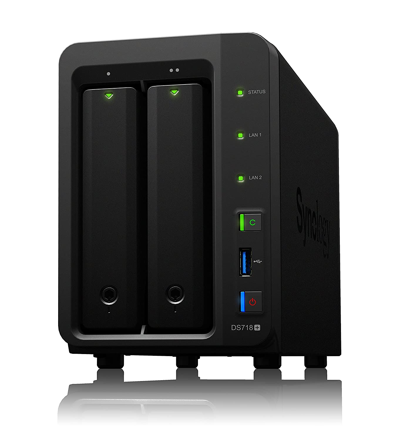 Synology DS718+/4TB-REDPRO 2 Bay NAS -