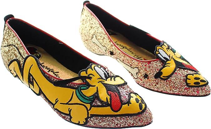 Irregular Choice Women's Pluto Textile Ballerina Pumps: Amazon.co.uk: Shoes  & Bags