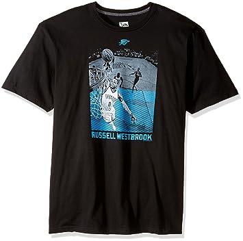 Majestic NBA Oklahoma City Thunder para Hombre Atletismo lo Que miras Nombre de Jugador Camiseta de