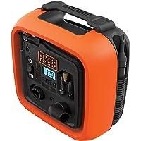 Black+Decker Hi Pressure Inflator 12V, ASI400-XJ, 2 Year Warranty