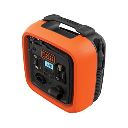 Black+Decker 11.0 Bomba de Aire Compresor/Bar/12 V, 160psi,