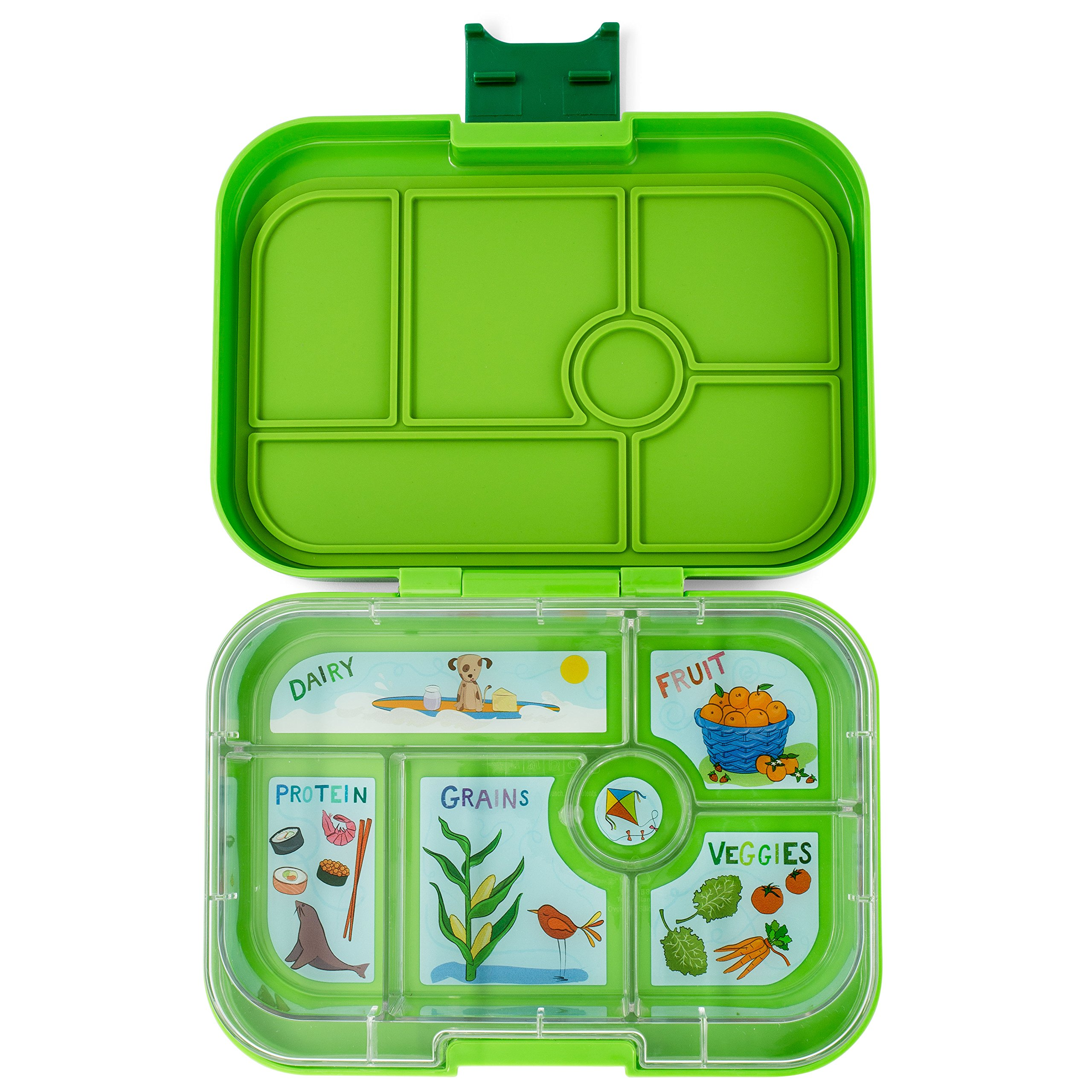 YUMBOX Original (Avocado Green) Leakproof Bento Lunch Box Container for Kids: Bento-style lunch box offers Durable, Leak-proof, On-the-go Meal and Snack Packing by Yumbox (Image #2)