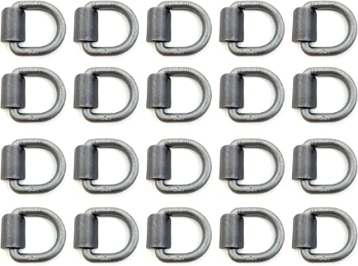 Automotive Parts & Accessories Set of 6 Weld-on 1/2