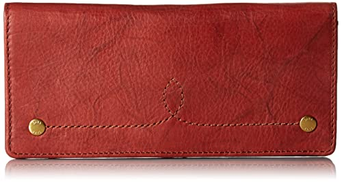 Frye - Campus Rivet cartera delgada de broche Para mujer, Rojo (Rojo ocre), Talla única: Amazon.es: Zapatos y complementos