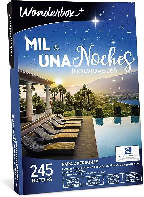 WONDERBOX Caja Regalo - MIL & UNA Noches INOLVIDABLES - 245 ...