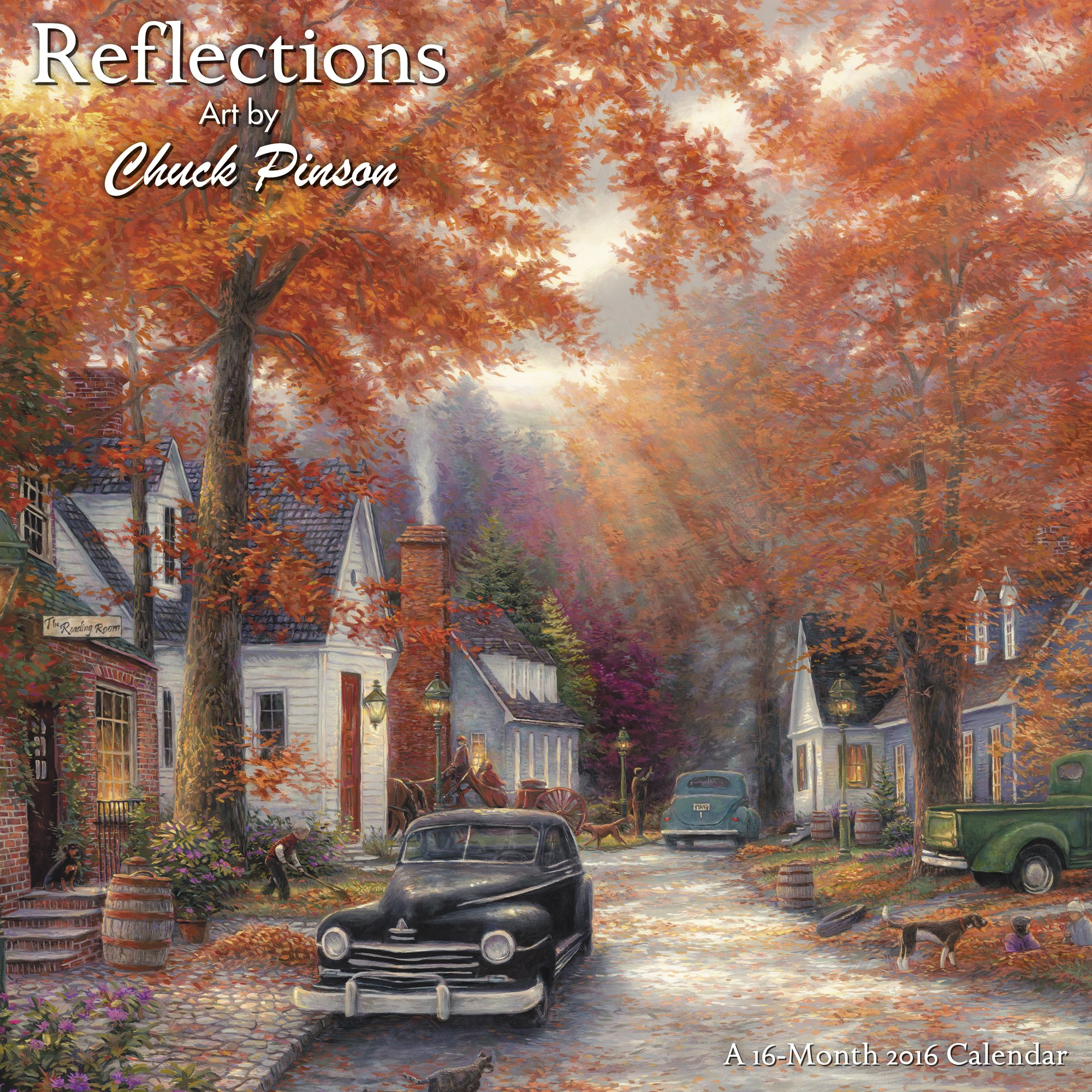 2016 reflections wall calendar