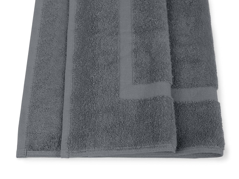 Dyckhoff Dyckhoff Dyckhoff Kristall 10er-Pack Frottiertücher - Uni - 100% Baumwolle 167.178, Badvorleger (50 x 75 cm), steingrau B00GS4IJ3W Handtücher e59aff