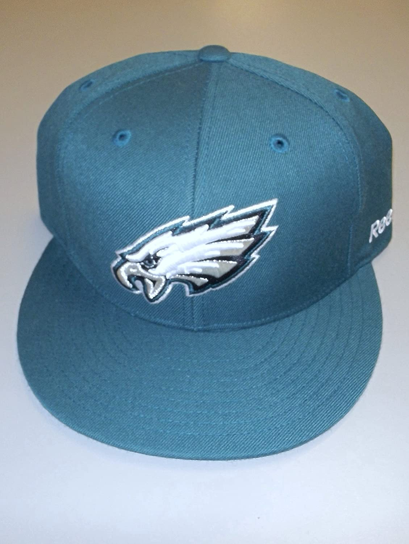 Philadelphia Eagles Fitted Hat by Reebokサイズ6 7 / 8 – t987 K   B00CEHNVBM