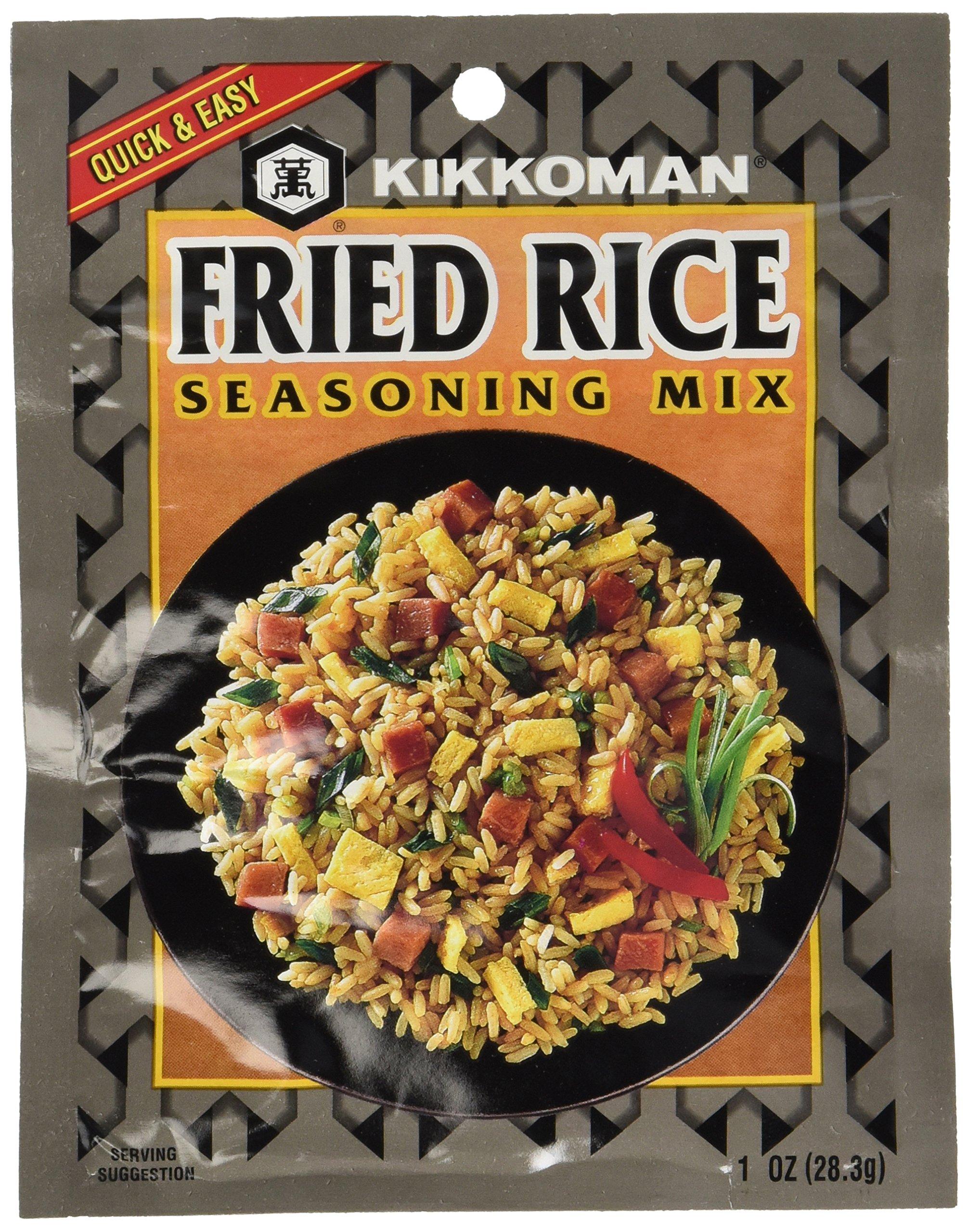 Kikkoman Fried Rice Seasoning Mix, 1-Ounce Pack (Pack of 24)