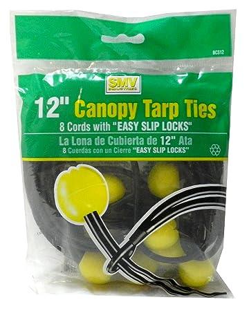 12u0026quot; Canopy Tarp Ties  sc 1 st  Amazon.com & 12