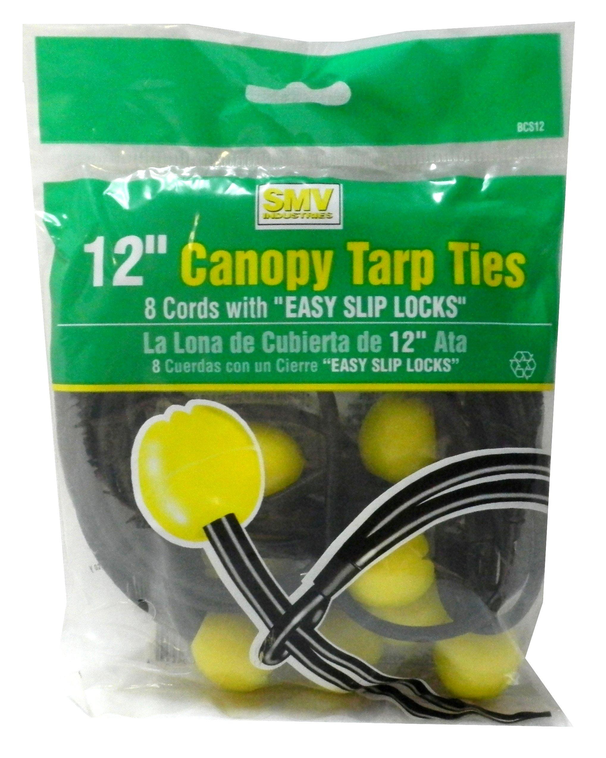 12'' Canopy Tarp Ties