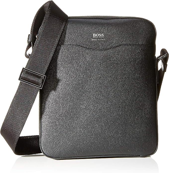Men Hugo Boss Bags Pixel/_S Zip Env Mini Bag Blue Size One Size
