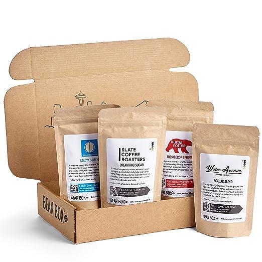 Bean Box - Gourmet Coffee Sampler Review