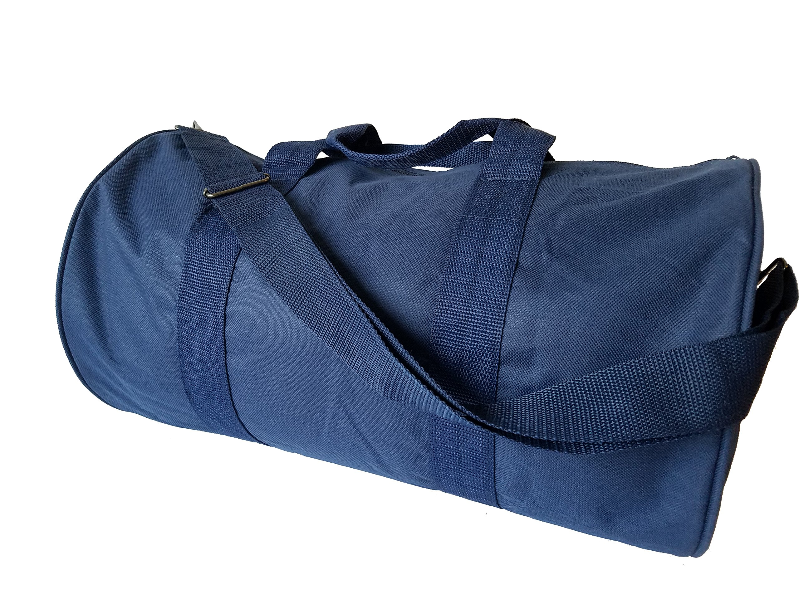 ImpecGear Round Duffel Sports Bags, Travel Gym Fitness Bag. (Navy) by ImpecGear (Image #5)