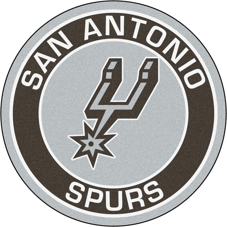 FANMATS 18852 NBA San Antonio Spurs Roundel Mat