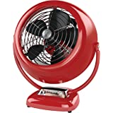 Vornado VFAN Vintage Air Circulator Fan, Red