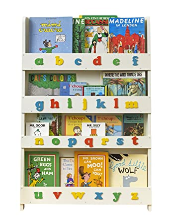 Bücherregal wand kinderzimmer  Tidy Books® - Das originale Kinder-Bücherregal in Cremeweiß mit ...