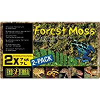 2-Pack Exo Terra Forest Plume Moss, 7 Quarts,