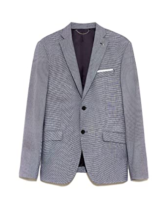 18488a78 Zara Men's Birdseye Suit Blazer 1564/420: Amazon.co.uk: Clothing