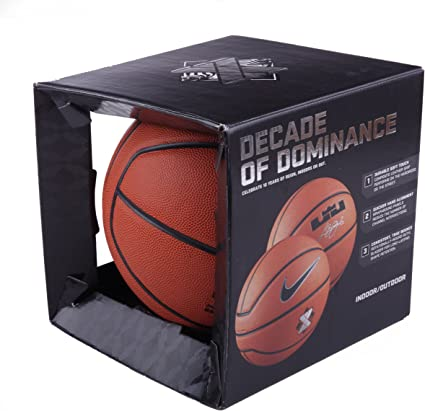 Nike BB0504 - Balón de baloncesto (tamaño 7), diseño de firma de ...