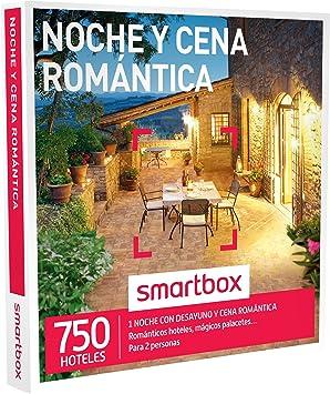 SMARTBOX - Caja Regalo - NOCHE Y CENA ROMÁNTICA - 750 románticos hoteles, mágicos palacetes, casonas en plena naturaleza: Amazon.es: Deportes y aire libre