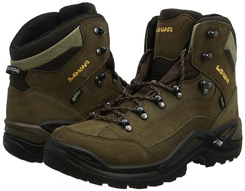 Lowa Mens Renegade Gore-Tex Sepia Nubuck Boots 9 US