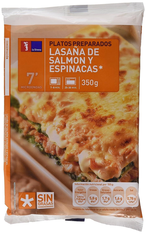 Lasaña De Salmon Y Espinacas C.350G: Amazon.es: Alimentación ...