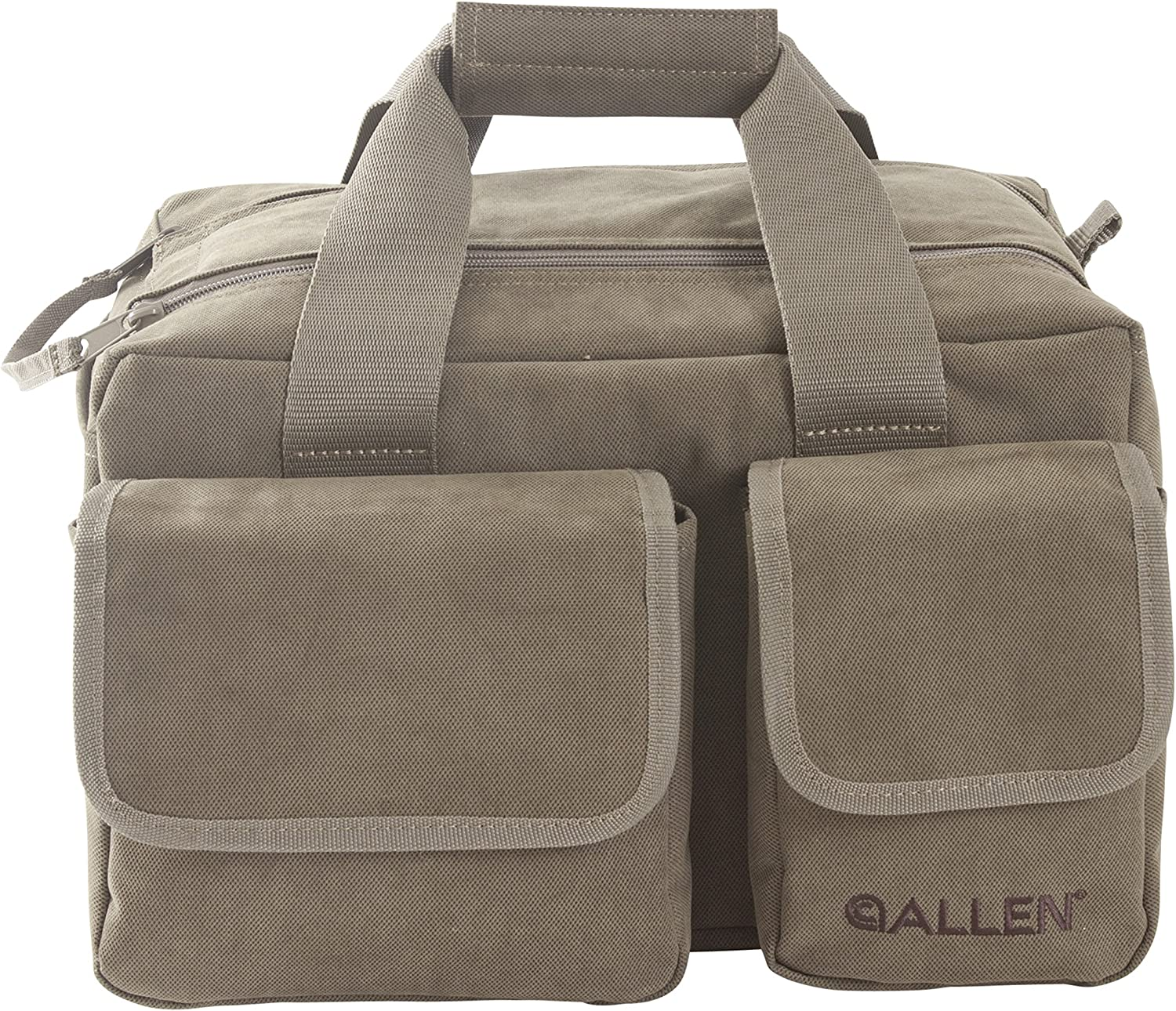Allen Select Canvas Range Bag with 2 Pistol Rugs