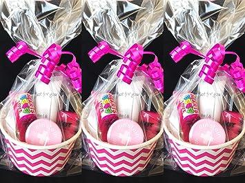 5 bolsas de fiesta prerellenas para niñas/niñas, para fiestas de pijama /despedida
