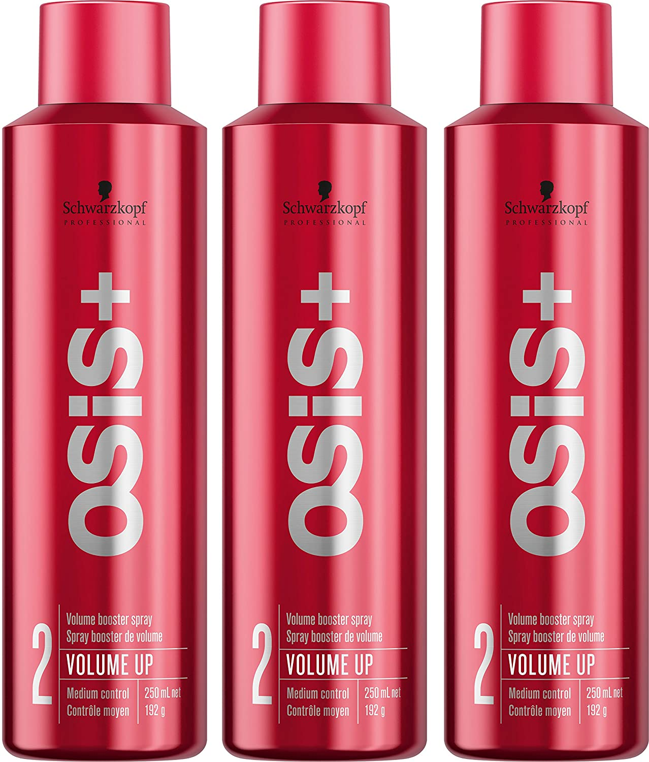 OSiS+ VOLUME UP Volume Booster Spray, 7 5-Ounce (3-Pack)