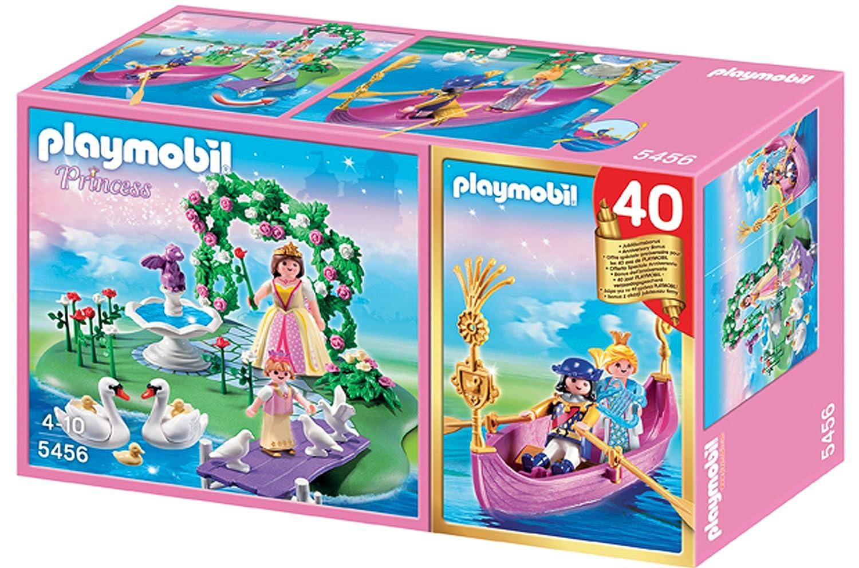 playmobil 5456 figurine compact set anniversaire ilot des princesses et gondole amazonfr jeux et jouets