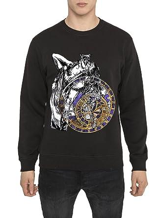 Shirts Rock Noir Style Homme Imprimé Vintage Mode Sweat Avec Motif 1aUfd1