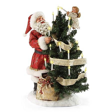 Department 56 Possible Dreams Christmas Santa Hark The Angels Figurine