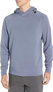 Amazon Brand - Peak Velocity Men's Yoga Luxe Fleece Pullover Hoodie