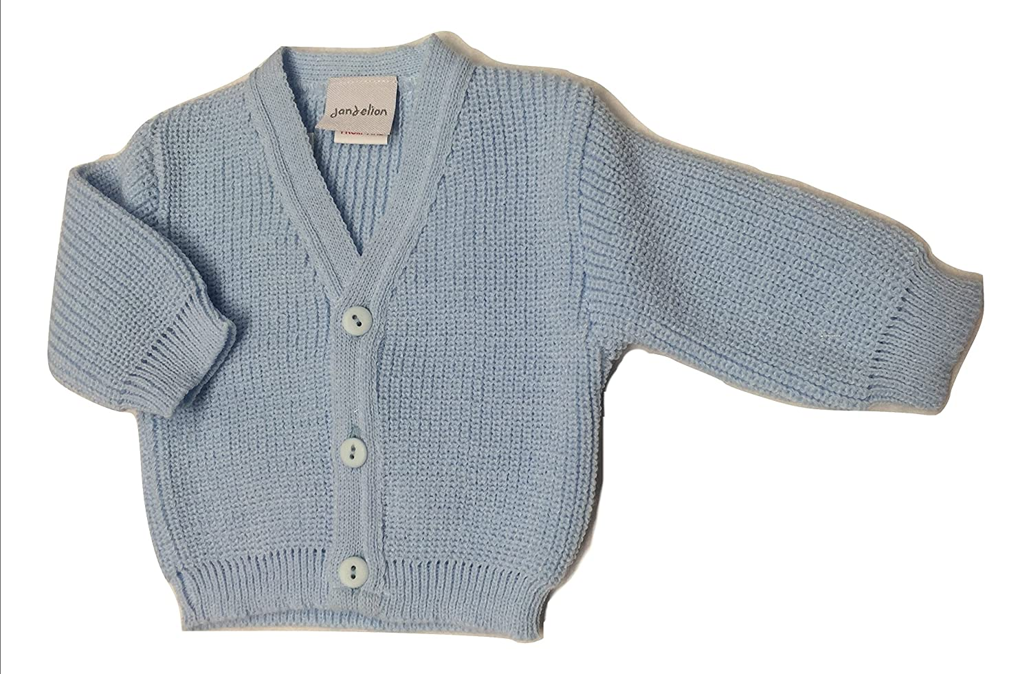 Dandelion Premature Early Baby Clothes - Ribbed Cardigan 2-8 Lbs
